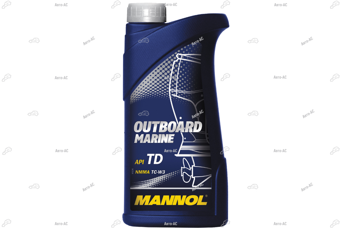 Масло моторное 2Т OUTBOARD MARINE MANNOL 1л.